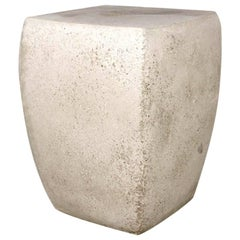 Lightweight Outdoor Side Table in 'Aged Concrete' finish by Zachary A. Design