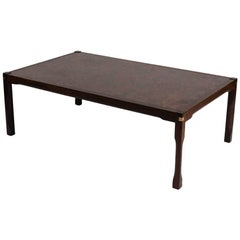 Large Rectangular Coffee Table, Scandinavia, Mid-20th Century