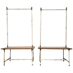 Pair of Late 19th Century French Clothing Racks