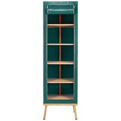 Visser and Meijwaard Truecolors Cabinet in Green PVC Cloth with Zipper Opening