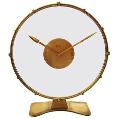 Art Deco Table Clock by Heinrich Möller for Kienzle