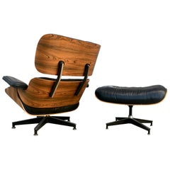 Exceptional Herman Miller Eames Lounge and Ottoman