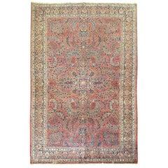 Antique Persian Sarouk Rug