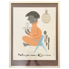 Maurice Binder Modern Design Advertisement Print