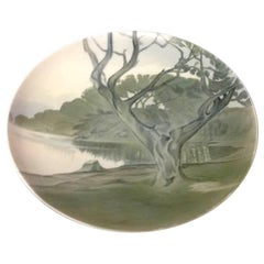 Bing & Grondahl Art Nouveau Wall Plate #6113/357-25