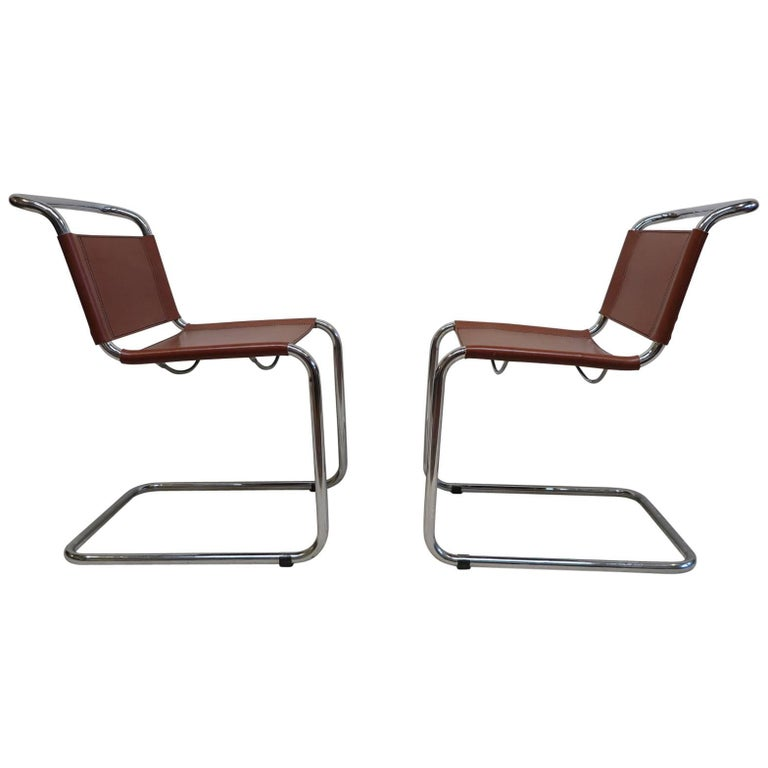 Pair of Mart Stam Chairs