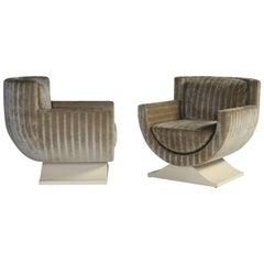 Richard Himmel Club Chairs