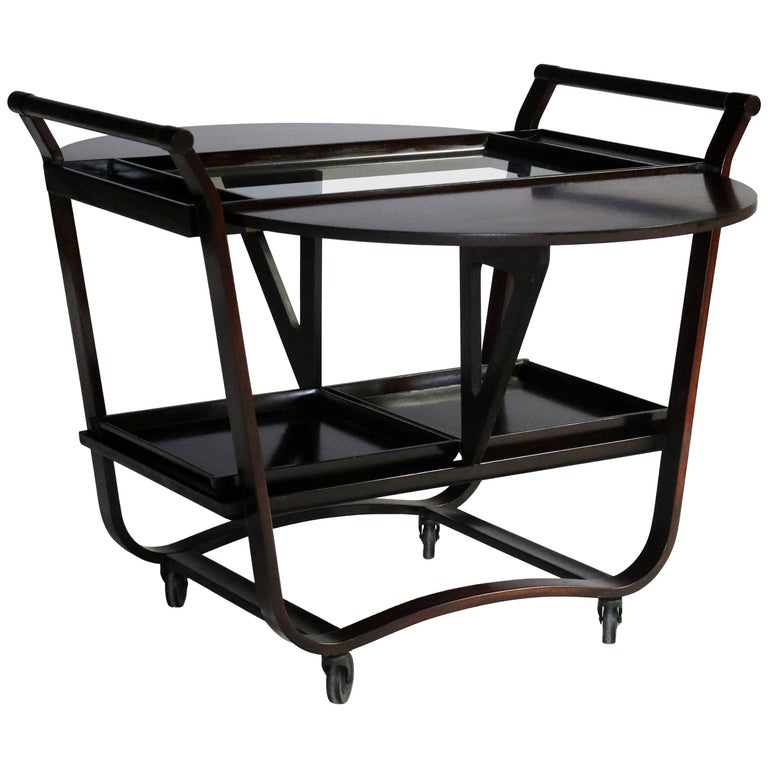 Edward Wormley for Dunbar Bar or Serving Cart