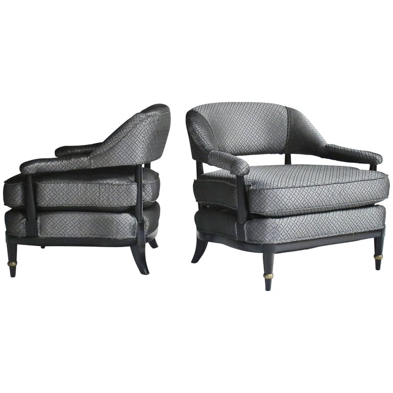 Billy Haines Style Lounge Chairs