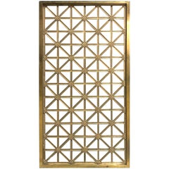 Antique Bronze Neoclassical Architectural Panel
