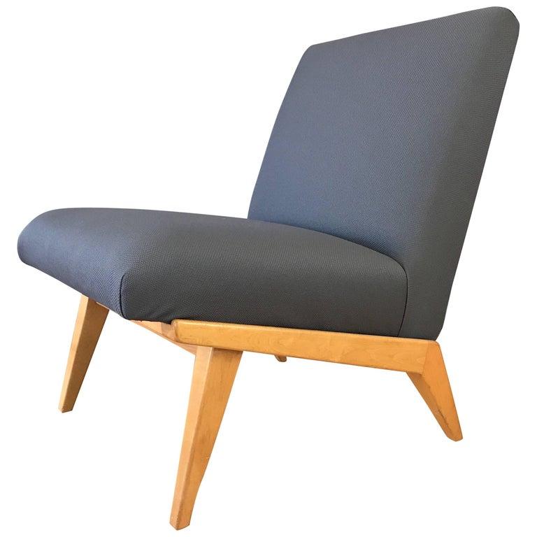 Jens Risom for Knoll Mid-Century Modern Slipper Chair