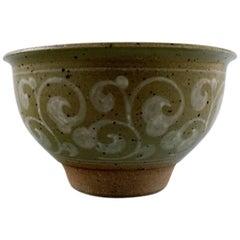 Unique Erik Reiff for Royal Copenhagen, Stoneware Bowl