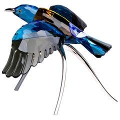 Beautiful Swarovski Bird Sculpture