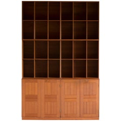 Mogens Koch Cabinets and Bookcases in Teak for Rud. Rasmussen