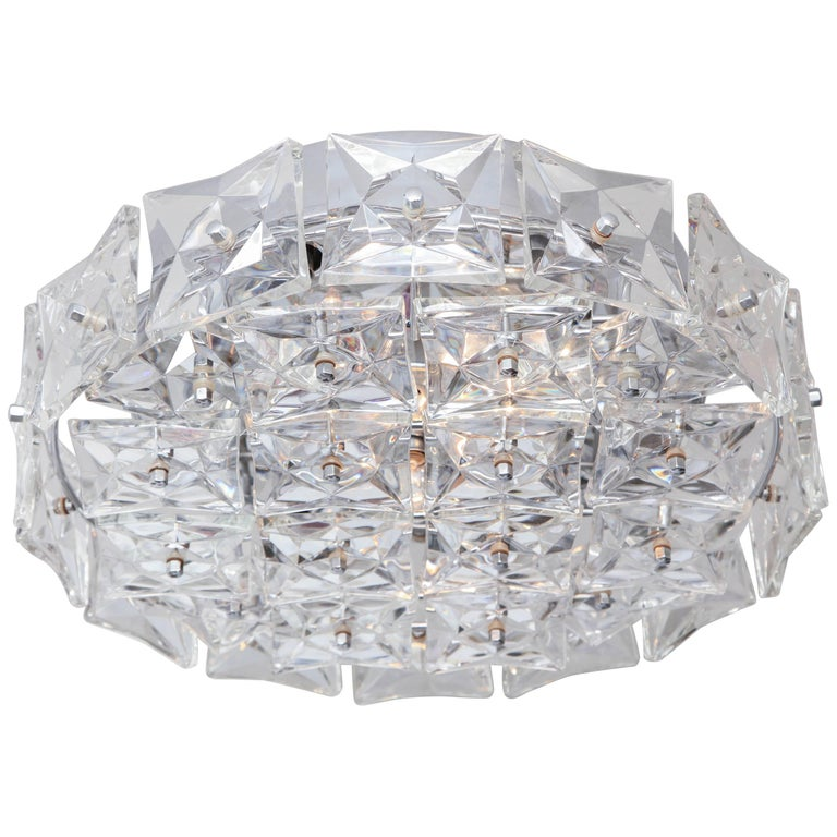 Kinkeldey Crystal Flush Mount