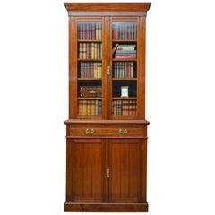 Edwardian Walnut Bookcase