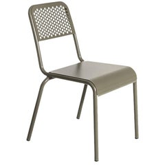 """Nizza"" Chair in Varnished Aluminum by Moroso for Diesel"