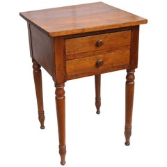 American Sheraton Cherrywood Side Table