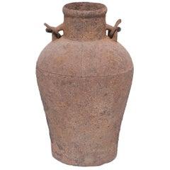 Chinese Cast Iron Vessel