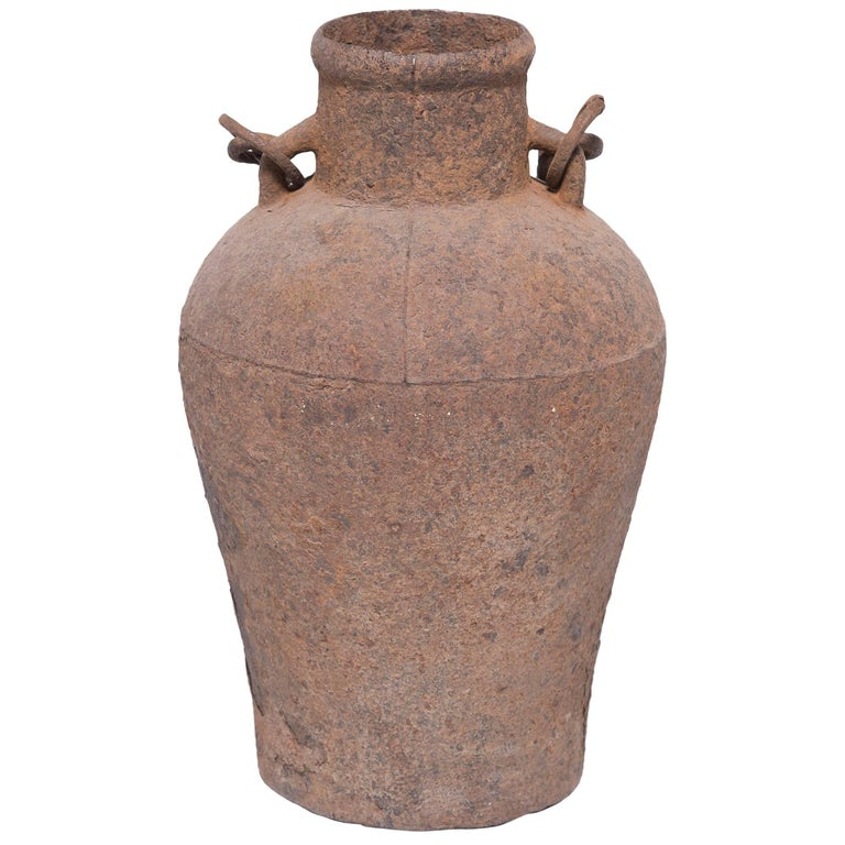 Chinese Cast Iron Vessel
