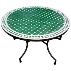 Moroccan Mosaic Table, CR4 Pattern
