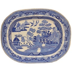 19th Century Transferware Platter