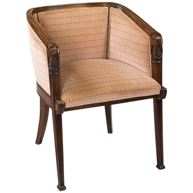 "French Art Nouveau ""Aux Pins"" Armchair by Majorelle"
