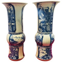Blue and White Chinese Vases