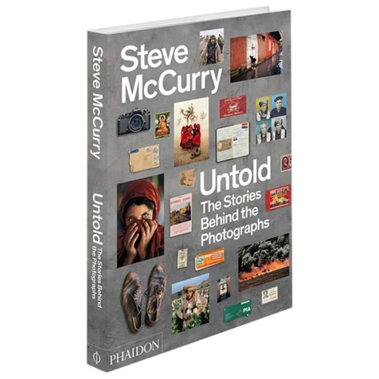 """""""Steve McCurry Untold The Stories Behind the Photographs"""" Book"""