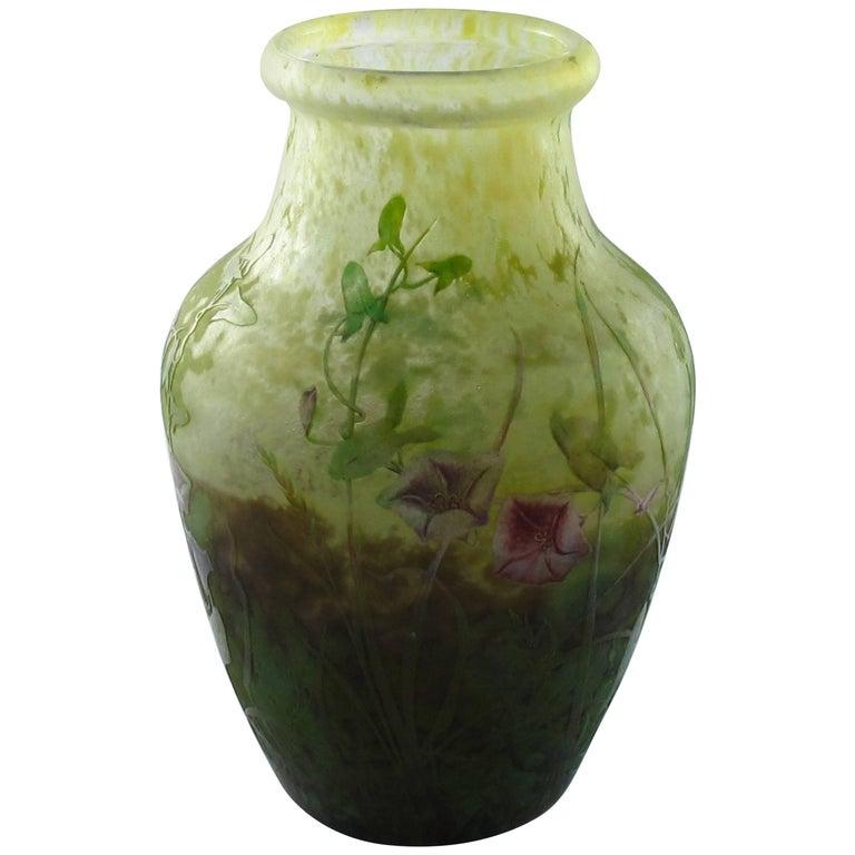 Art Nouveau Large Daum Vase