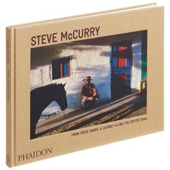 """Steve McCurry From These Hands - A Journey Along the Coffee Trail"" Book"