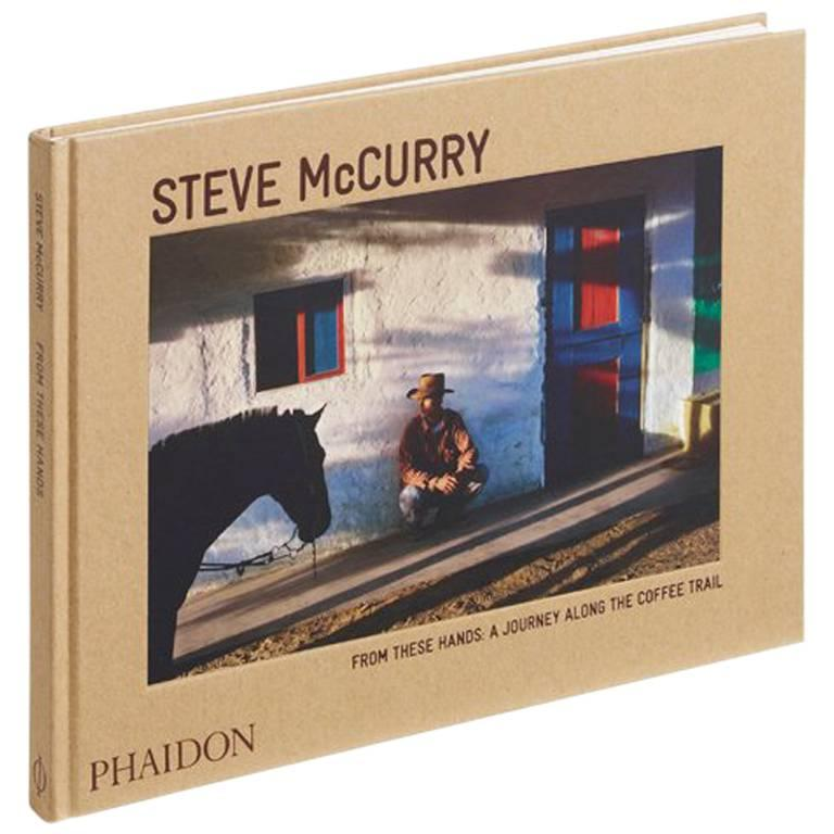 """Steve McCurry From These Hands - A Journey Along the Coffee Trail"" Book For Sale"