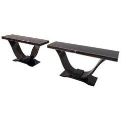 Macassar Design Console Tables