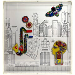 'Jahresobjekt in Keramik 1985' by Sir Eduardo Paolozzi for Rosenthal