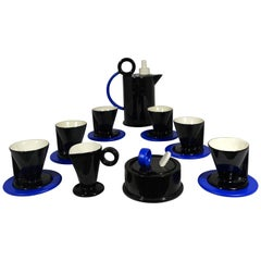 Memphis Coffee Set form the Hollywood Collection by Marco Zanini for Flavia