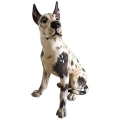 Dahl Jensen Figurine of Dog Great Dane #1111