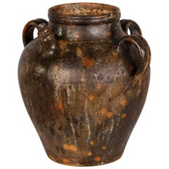 French Earthenware Water Jar, Late 1800s