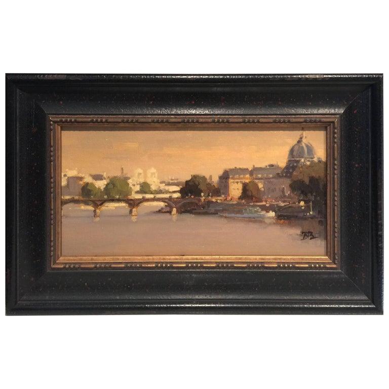 Brian Blood California Impressionist Bridge Paris, 2011