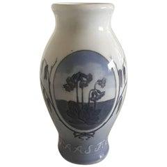 Royal Copenhagen Easter Vase, 1924