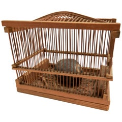 Early Chinese Lucky Cricket Cage