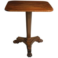 Early 19th Century Regency Period Rosewood Centre Table