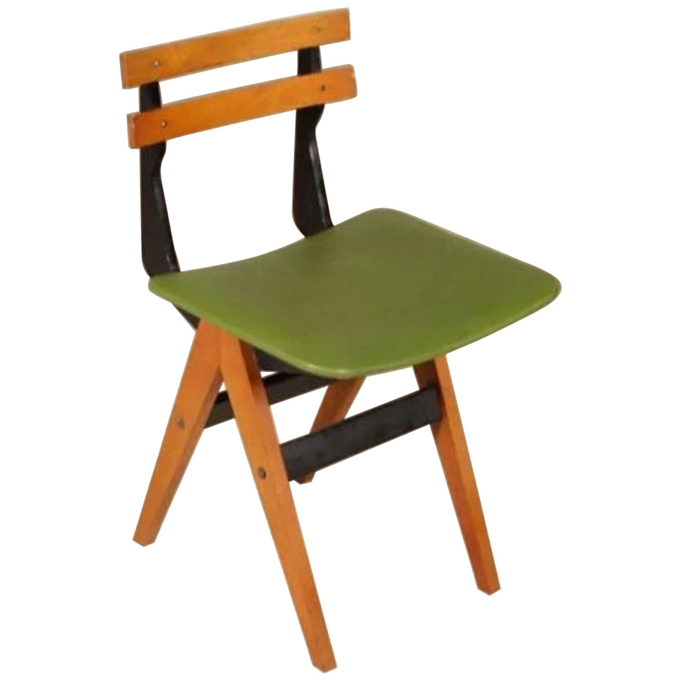 Ico & Luisa Parisi Rare Desk Chair, circa 1960, Italy