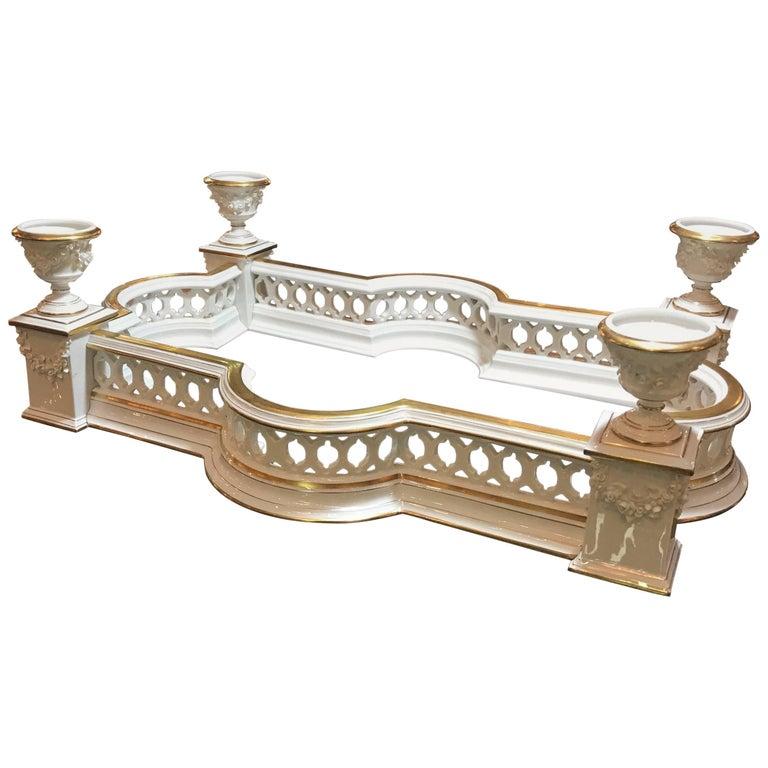 Table Scape Porcelain Surtout De Table by Vista Alegre, Portugal