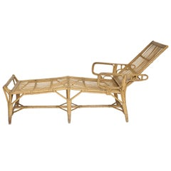 Rattan Deck Lounger