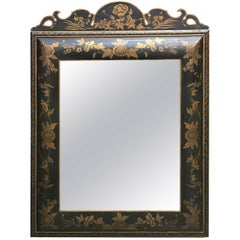 Chinoiserie Gilt Lacquered Mirror