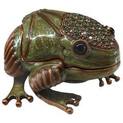 Frog Trinket Box by Edgar Berebi