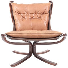 Original Falcon Chair by Sigurd Resell