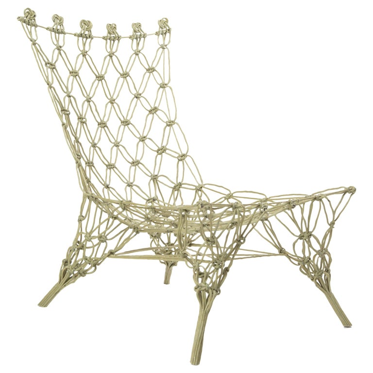 Knotted Chair Marcel Wanders for Droog Design, the Netherlands