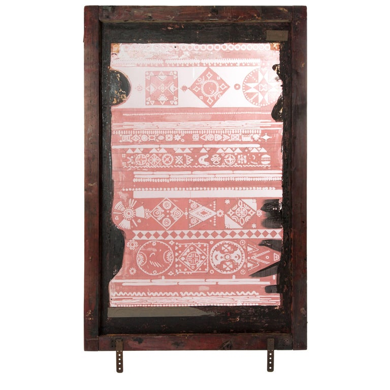 Paapje Screen Print Frame As Room Divider Or Transpa Art Painting For