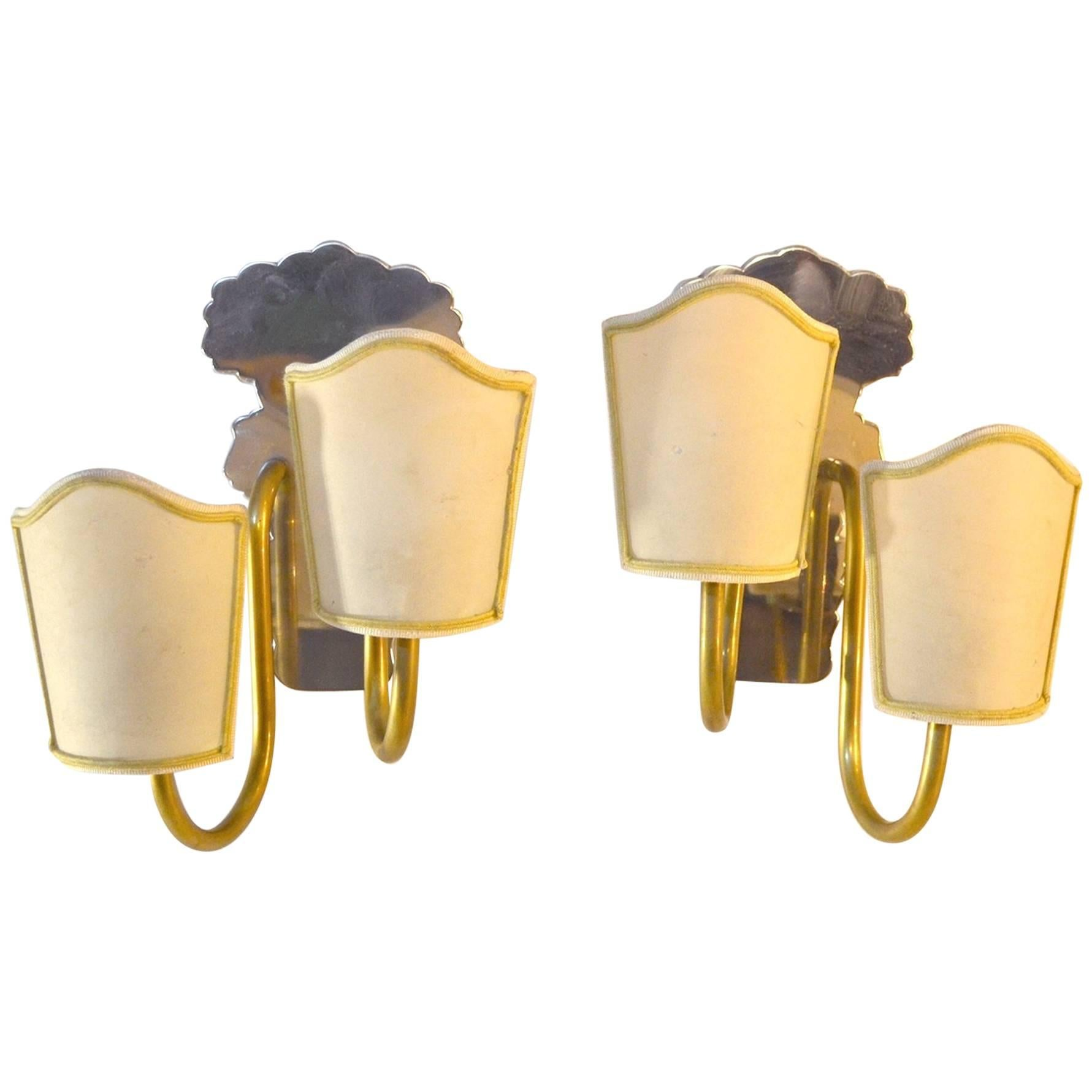 Classic Art Deco Wall Sconces at 1stdibs